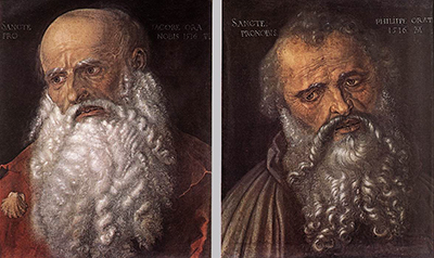 The Apostles Philip and James Albrecht Durer